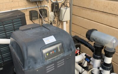 AstralPool full service of all the equipment. Equipment includes AstralPool Viron450 gas pool heater, AstralPool Connect10, AstralPool EQ-35 and AstralPool P600 Filter Pump.